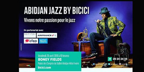 26 april 2019 | Bicici Jazz Festival with the Lucky PETERSON Band - ABIDJAN (Ivory Coast)