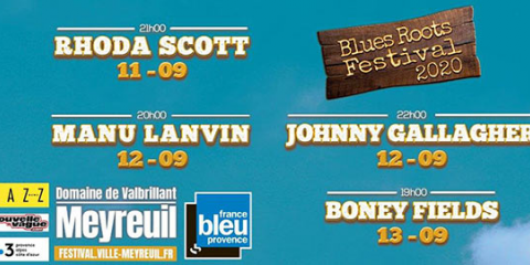 13 september 2020 - FESTIVAL BLUES ROOTS - MEYREUIL (France  - 13)
