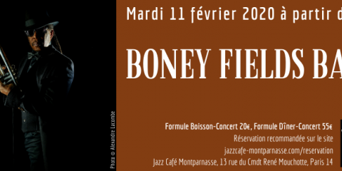 11 February 2020 - JAZZ CAFE MONTPARNASSE (PARIS - France)