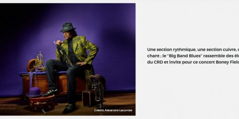 16 Nov 2017 - Big Band Blues invites Boney FIELDS - MANTES LA JOLIE (France - 78)